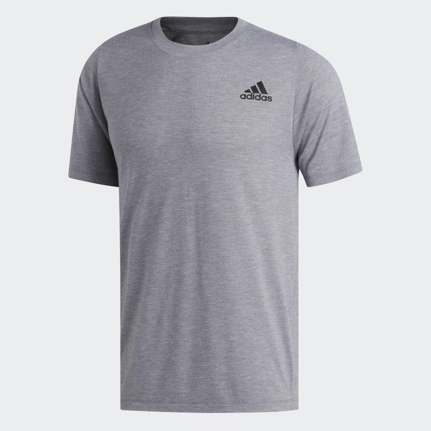adidas-FreeLift-Sport-Prime-Heather-Tee-Men-039-s thumbnail 20