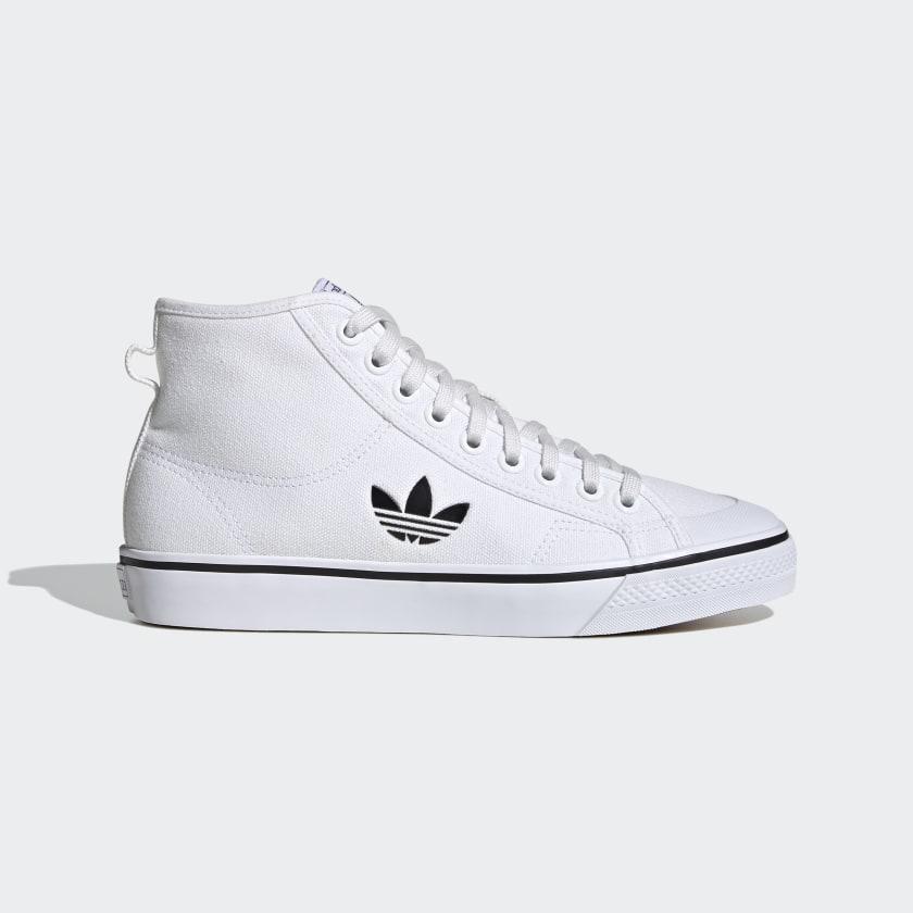 adidas-Originals-Nizza-Hi-Shoes-Men-039-s thumbnail 13
