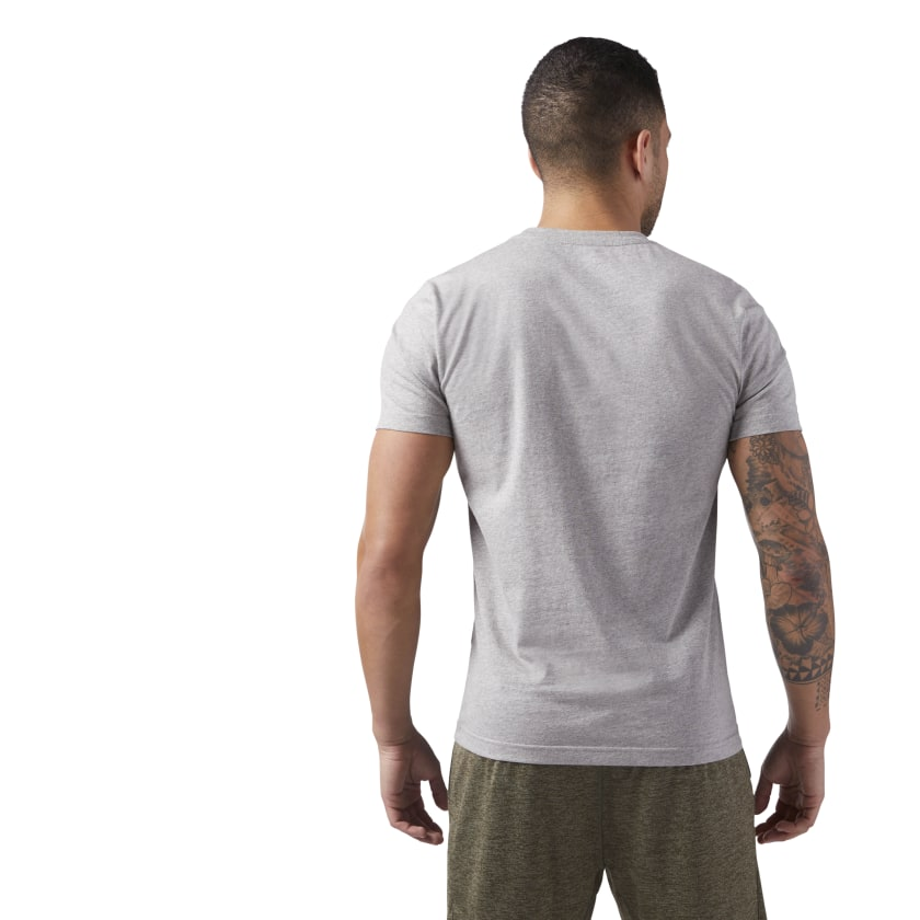 Reebok-Men-039-s-Linear-Read-Tee thumbnail 5