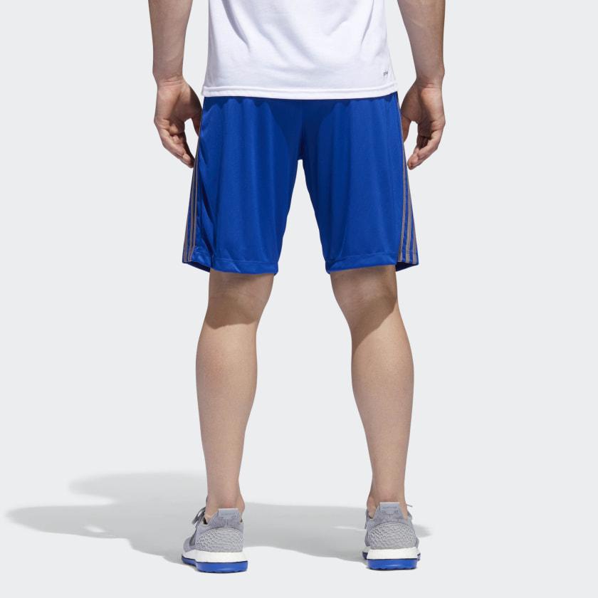 adidas-D2M-3-Stripes-Shorts-Men-039-s thumbnail 43