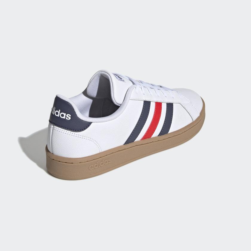 adidas-Originals-Grand-Court-Shoes-Men-039-s thumbnail 13