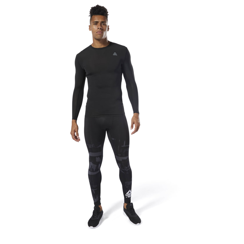 Reebok-Men-039-s-Training-Compression-Tights thumbnail 12