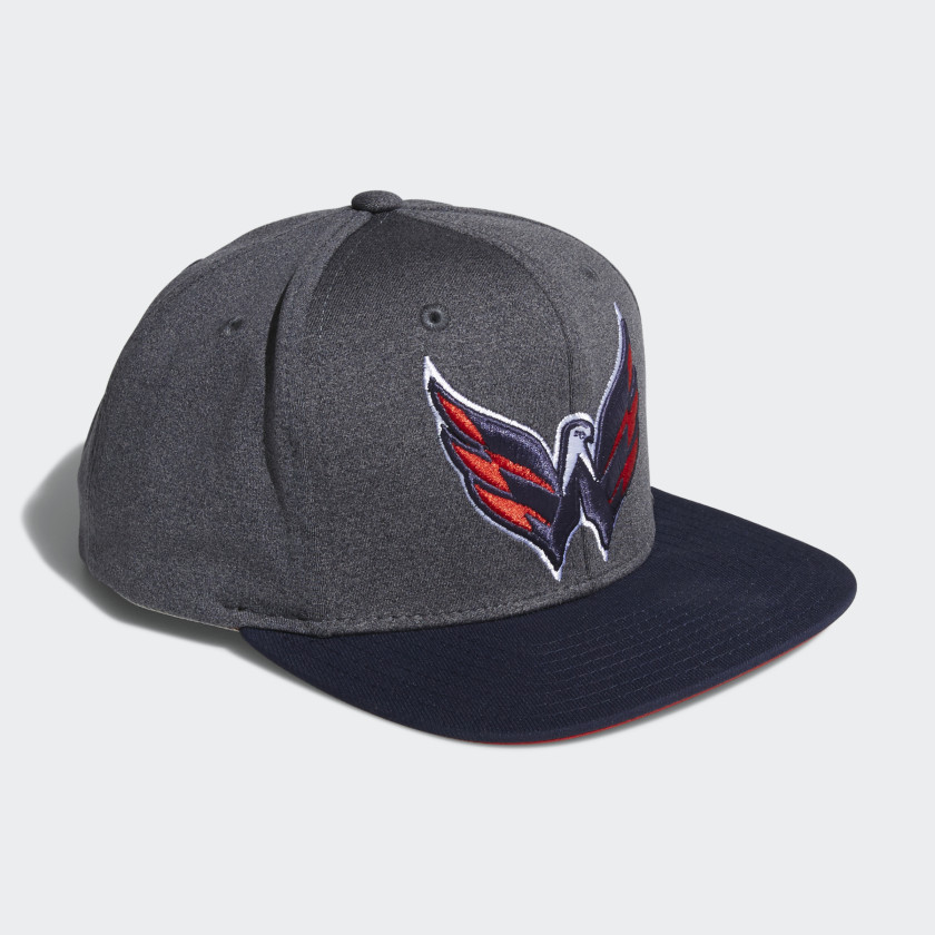 Capitals Snapback Heathered Grey Hat