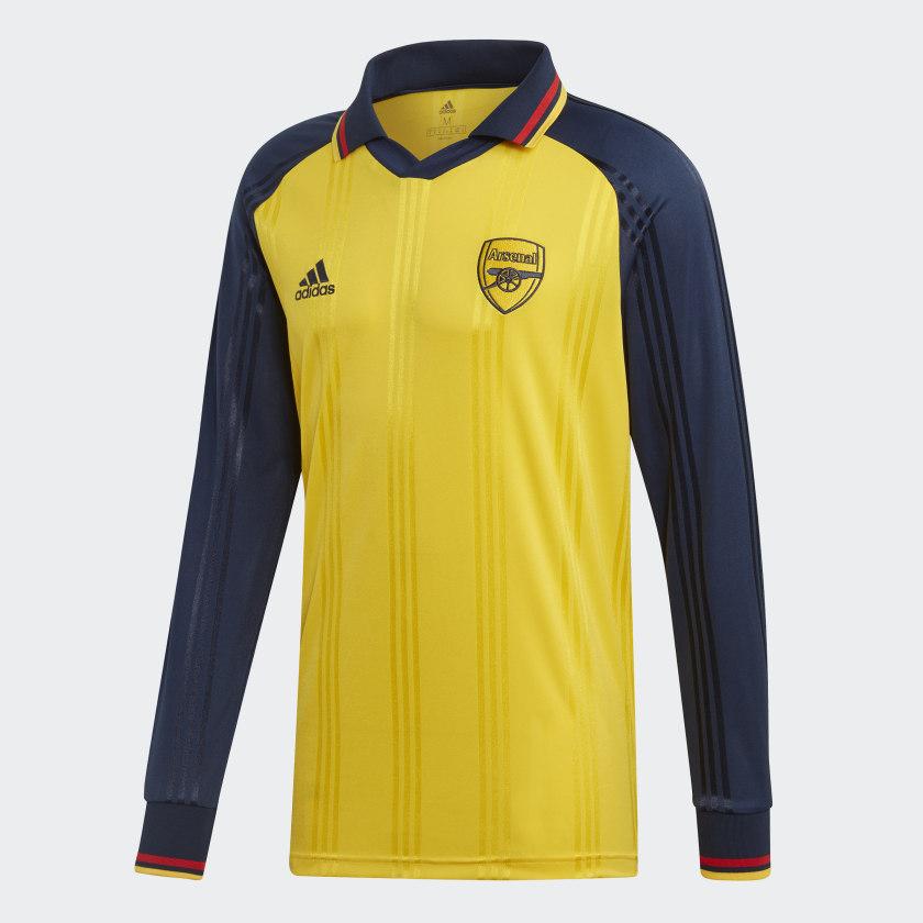 T_shirt_Arsenal_Icon_Jaune_EH5614_01_lay