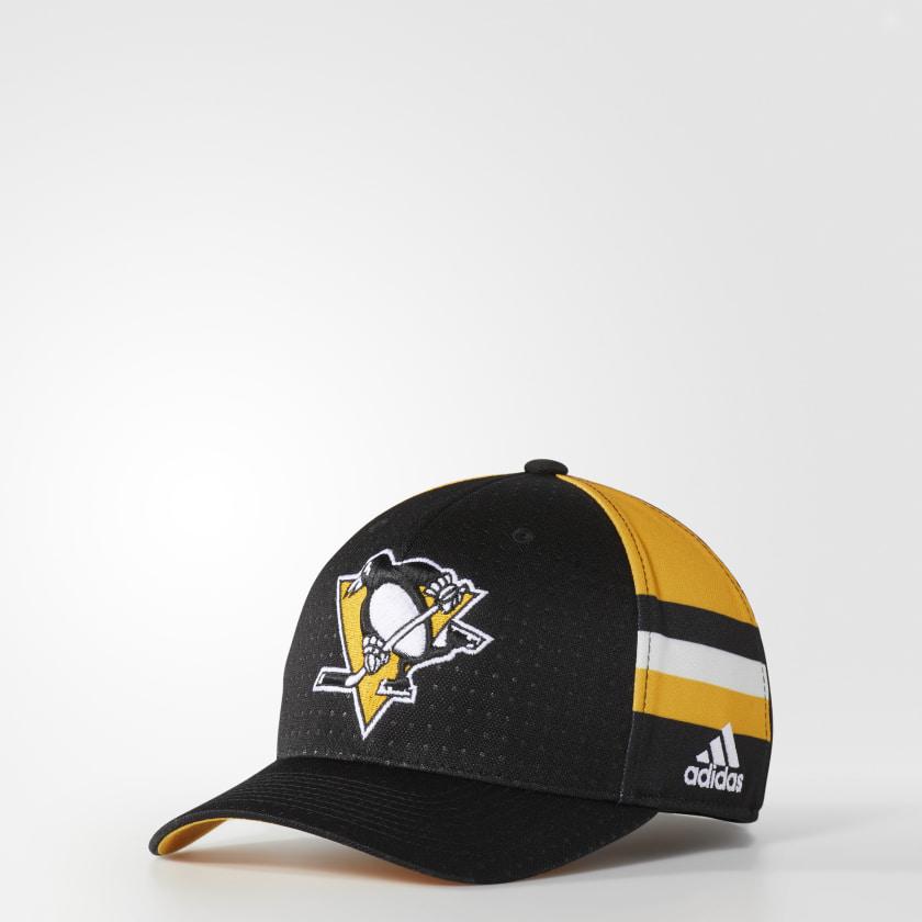 Penguins Structured Flex Draft Hat