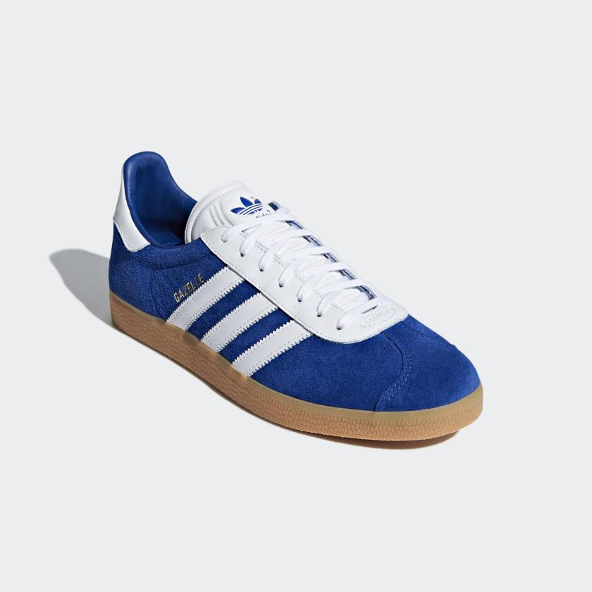 various colors 6fa24 41e97 ... reduced adidas gazelle sko blå adidas denmark 6236b 134ca