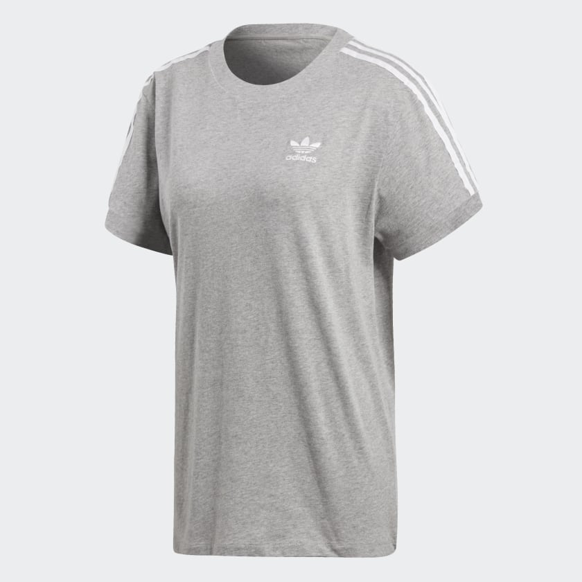 adidas-Originals-3-Stripes-Tee-Women-039-s thumbnail 14
