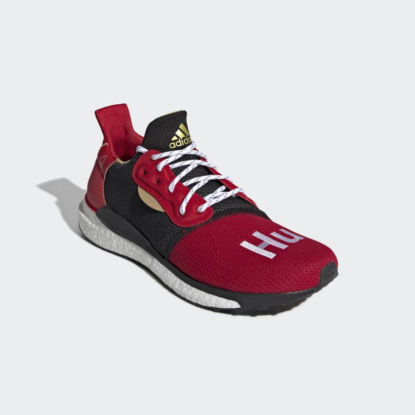 7beb682152 adidas CNY Solar Hu Glide Shoes - Black