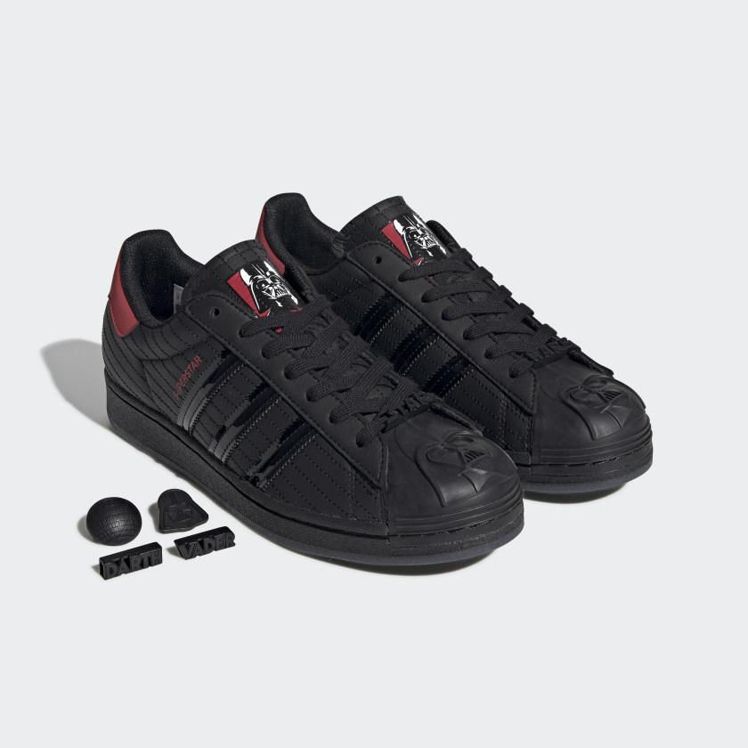 thumbnail 12 - adidas Originals Superstar Star Wars Darth Vader Shoes Men's