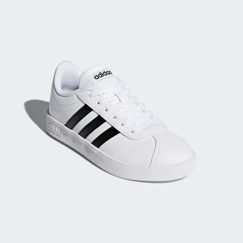 adidas-VL-Court-2-0-Shoes-Kids-039 thumbnail 15