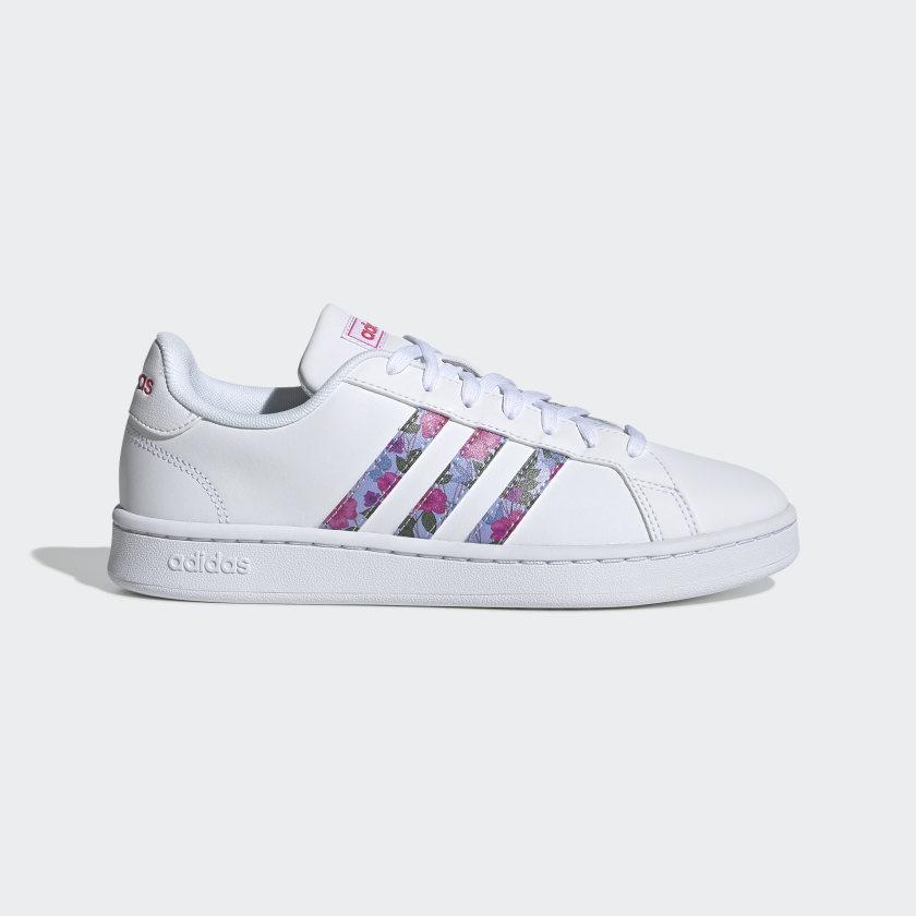 adidas-Originals-Grand-Court-Shoes-Women-039-s thumbnail 14
