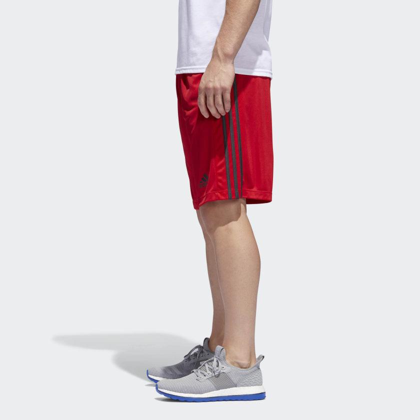 adidas-D2M-3-Stripes-Shorts-Men-039-s thumbnail 35