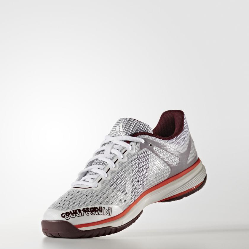 c92d90e64ba Tênis Court Stabil 13 - Branco adidas