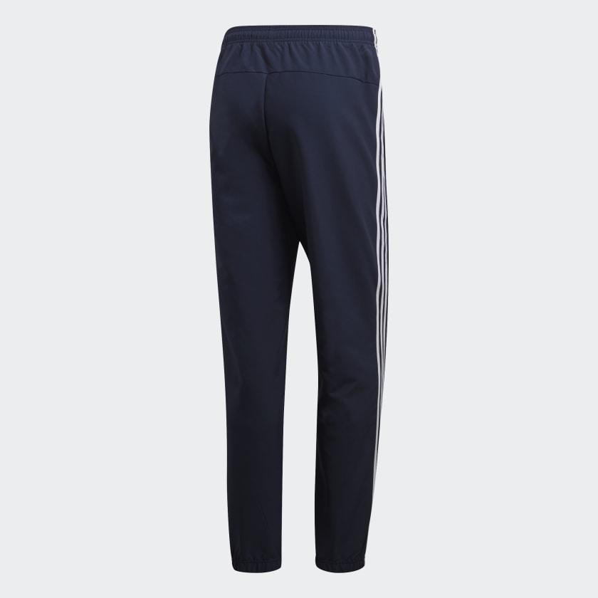 adidas-Essentials-3-Stripes-Wind-Pants-Men-039-s thumbnail 20