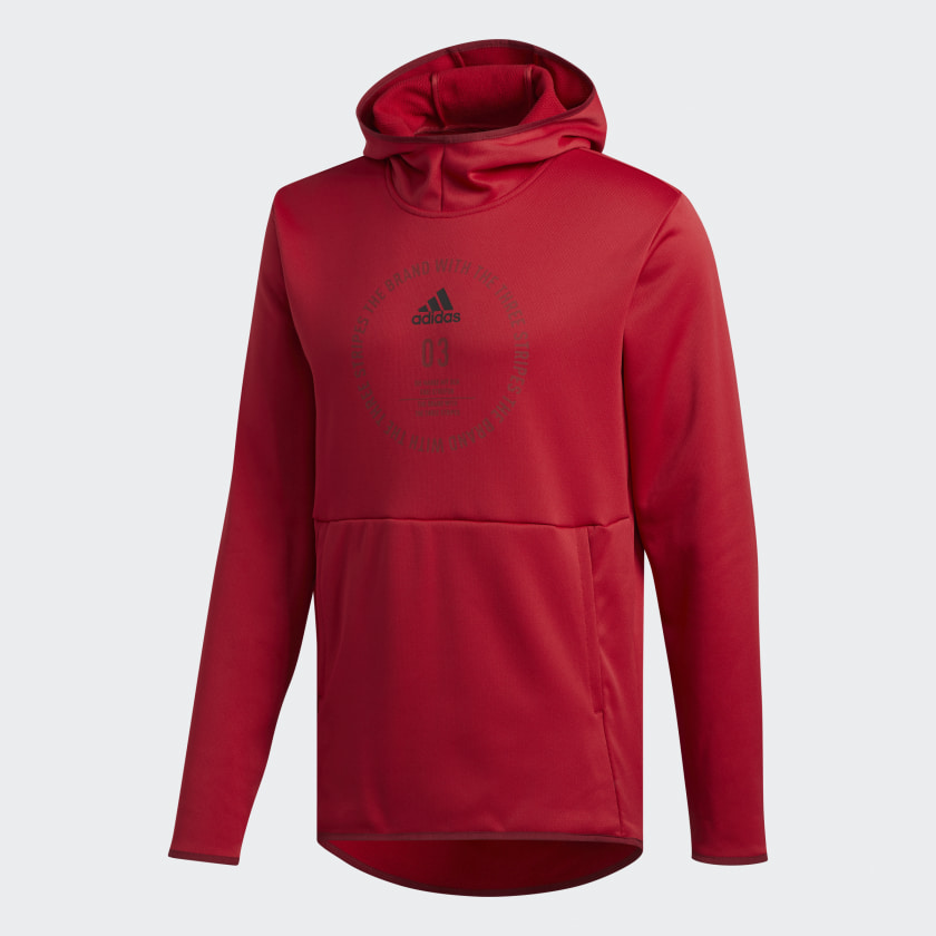 adidas-Team-Issue-Badge-of-Sport-Hoodie-Men-039-s miniatura 30
