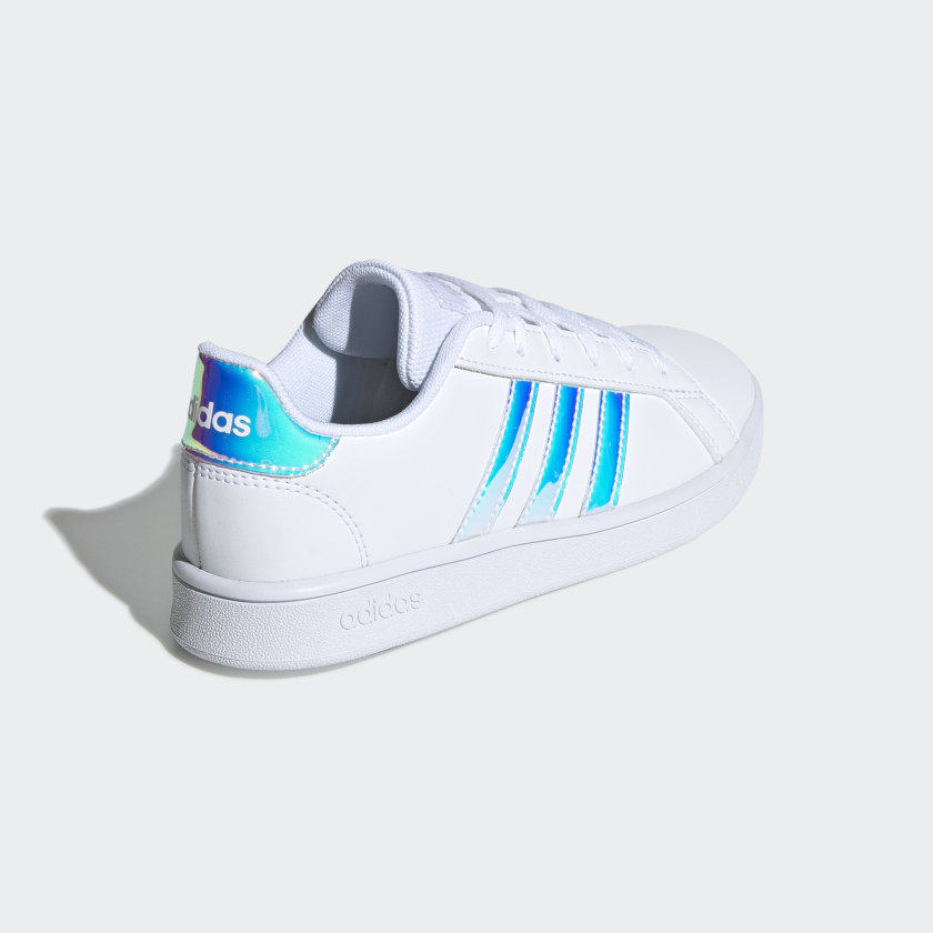 adidas-Grand-Court-Shoes-Kids-039 thumbnail 13