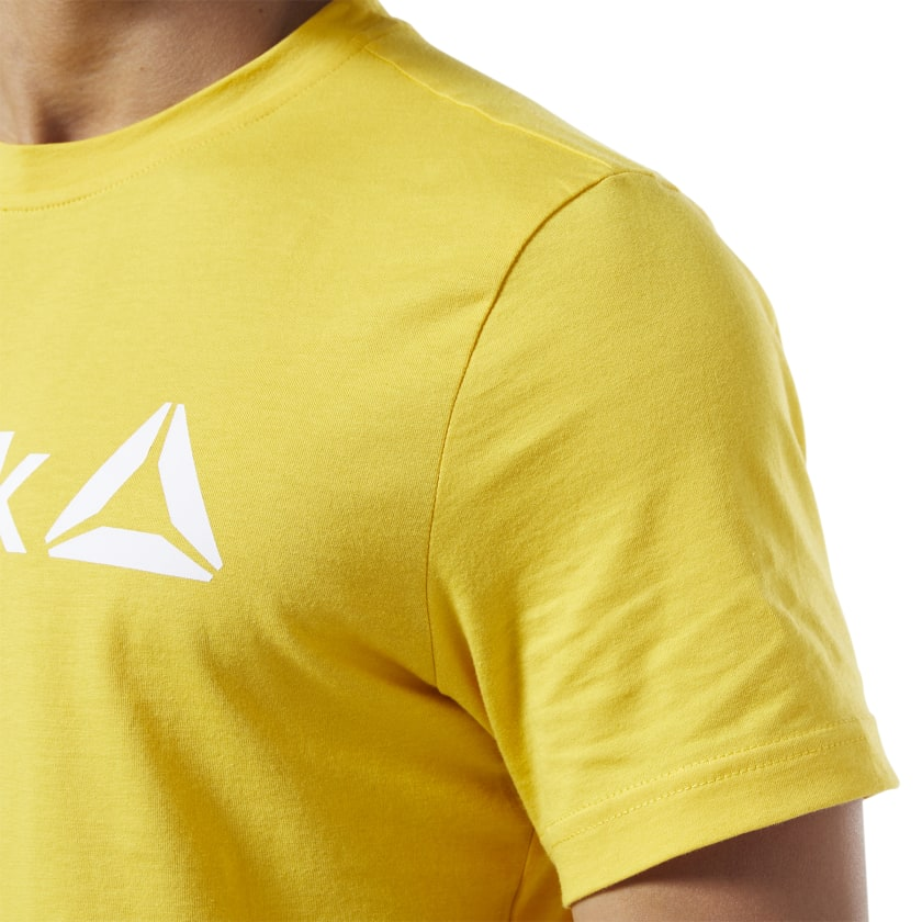 Reebok-Men-039-s-Linear-Read-Tee thumbnail 48