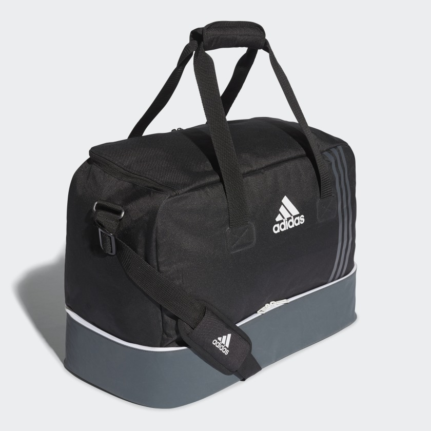 adidas Tiro Team Bag with Bottom Compartment Medium - Black  e368e67f3285d