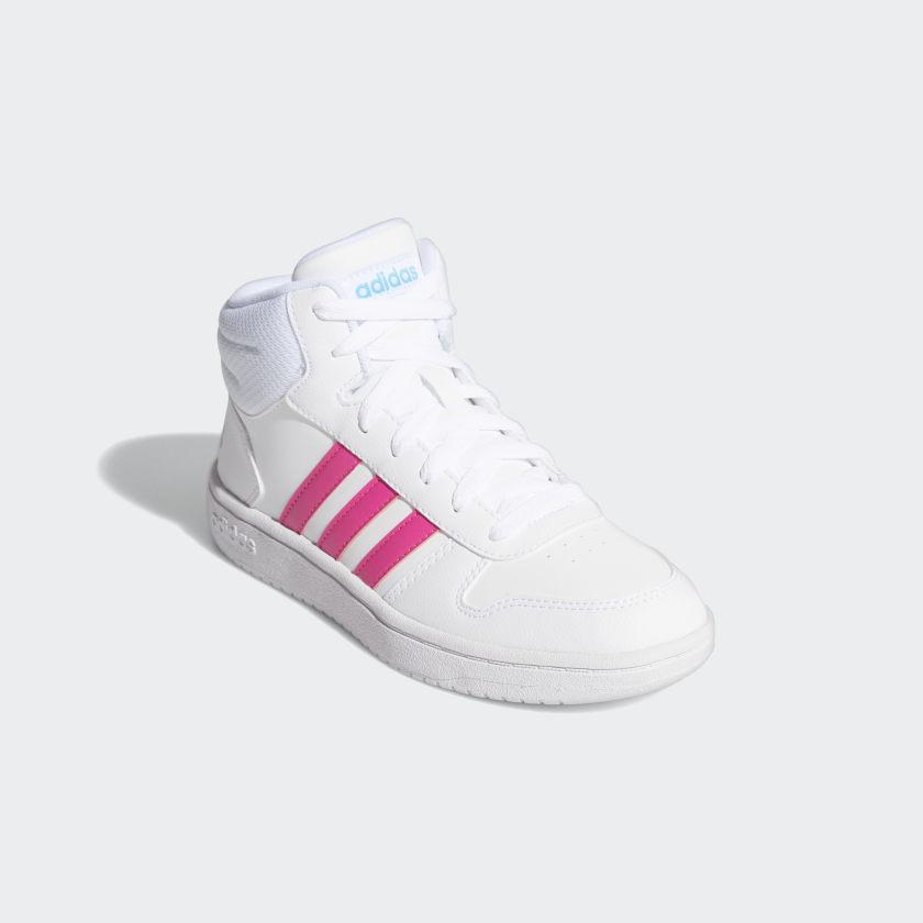 adidas-Hoops-2-0-Mid-Shoes-Kids-039 thumbnail 11