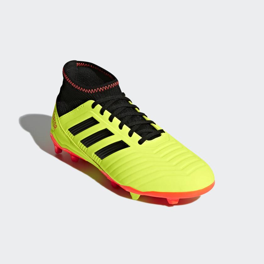 adidas Botas de Futebol Predator 18.3 – Piso Firme - Amarelo ... a0554897209ff