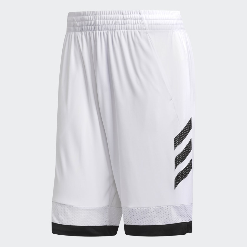 adidas-Pro-Bounce-Shorts-Men-039-s thumbnail 6