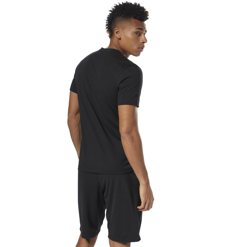 Reebok-Men-039-s-Linear-Read-Tee thumbnail 8