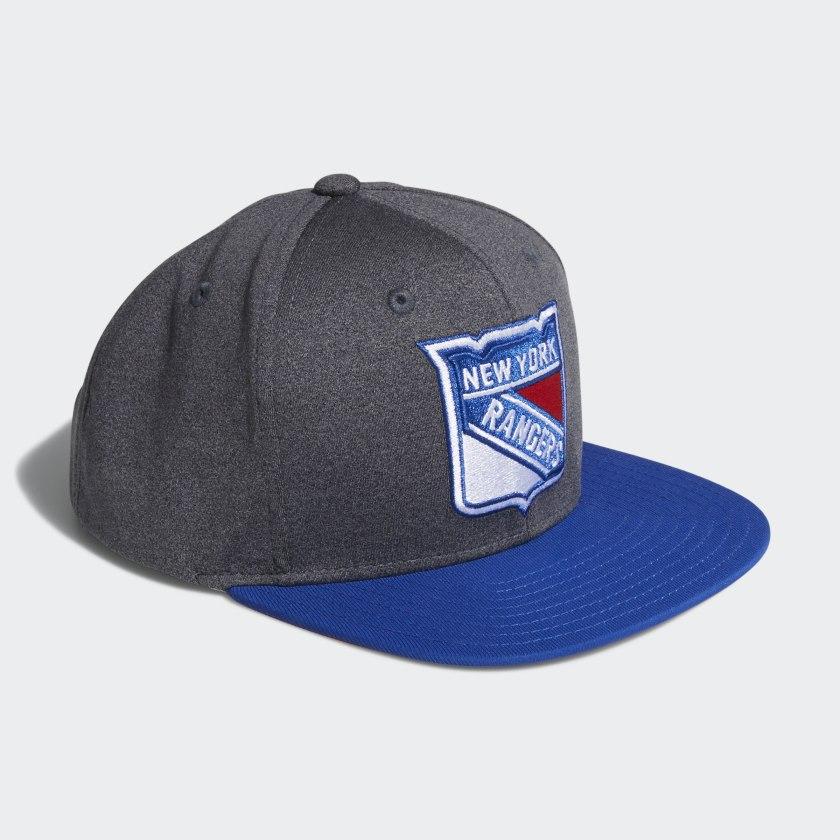 Rangers Snapback Heathered Grey Hat