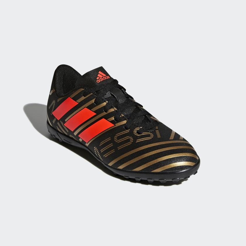 Chuteira Nemeziz Messi 17.4 Society Infantil - Preto adidas  d0f9c0194409b