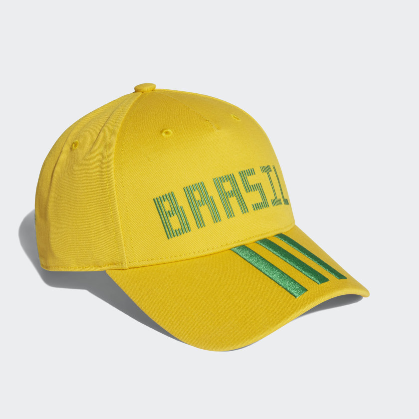 Boné Brasil - Ouro adidas  001bc09385b05