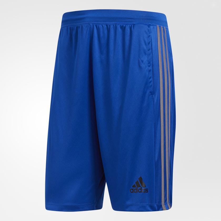 adidas-D2M-3-Stripes-Shorts-Men-039-s thumbnail 46