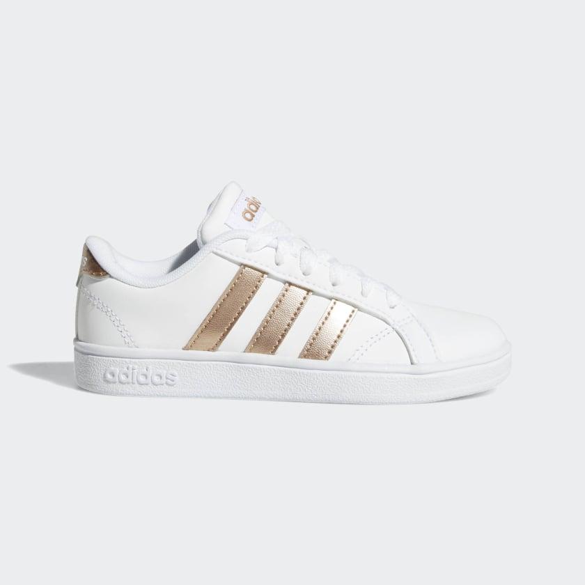adidas-Baseline-Shoes-Kids-039 thumbnail 12