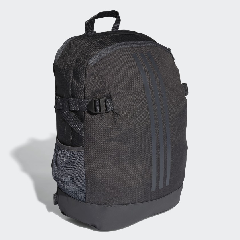 adidas 3-Stripes Power Backpack Medium - Grey   adidas US 842e857901
