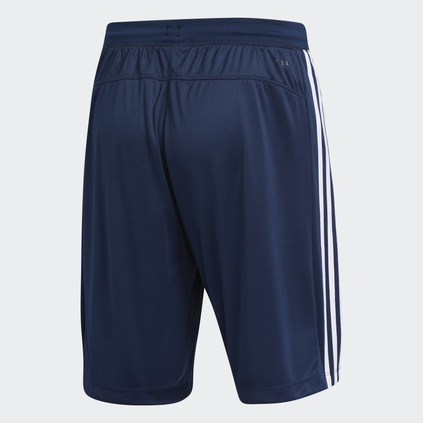 adidas-D2M-3-Stripes-Shorts-Men-039-s thumbnail 25