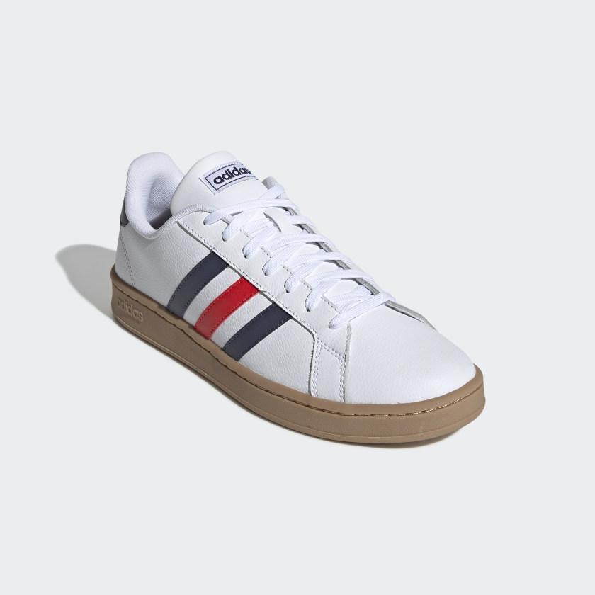 adidas-Originals-Grand-Court-Shoes-Men-039-s thumbnail 15