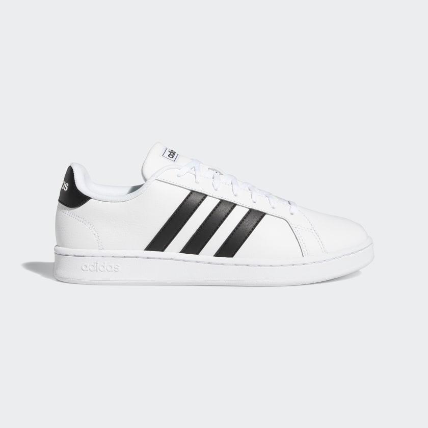 adidas-Originals-Grand-Court-Shoes-Men-039-s thumbnail 22
