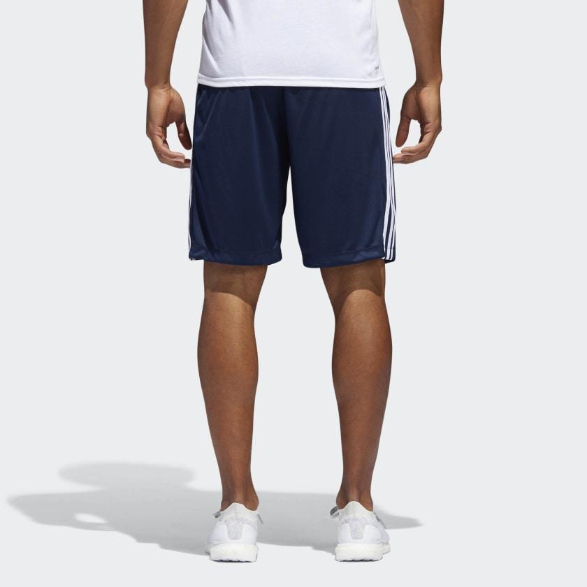 adidas-D2M-3-Stripes-Shorts-Men-039-s thumbnail 26