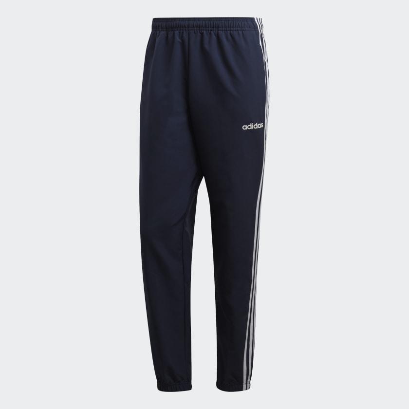 adidas-Essentials-3-Stripes-Wind-Pants-Men-039-s thumbnail 22