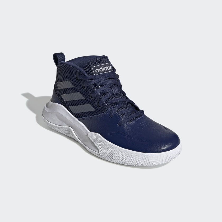 adidas-OwnTheGame-Wide-Shoes-Kids-039 thumbnail 22