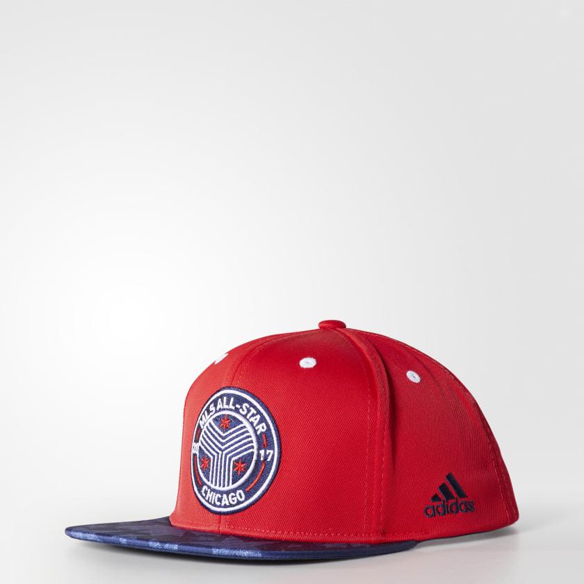Flat-Brim Snapback Hat