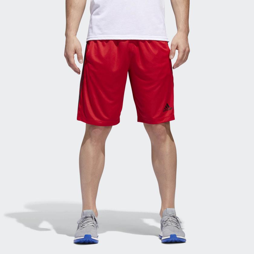 adidas-D2M-3-Stripes-Shorts-Men-039-s thumbnail 36
