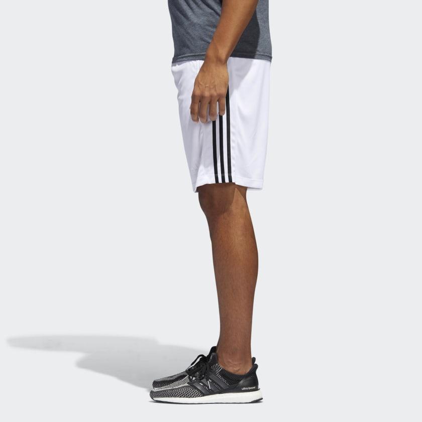 adidas-D2M-3-Stripes-Shorts-Men-039-s thumbnail 17