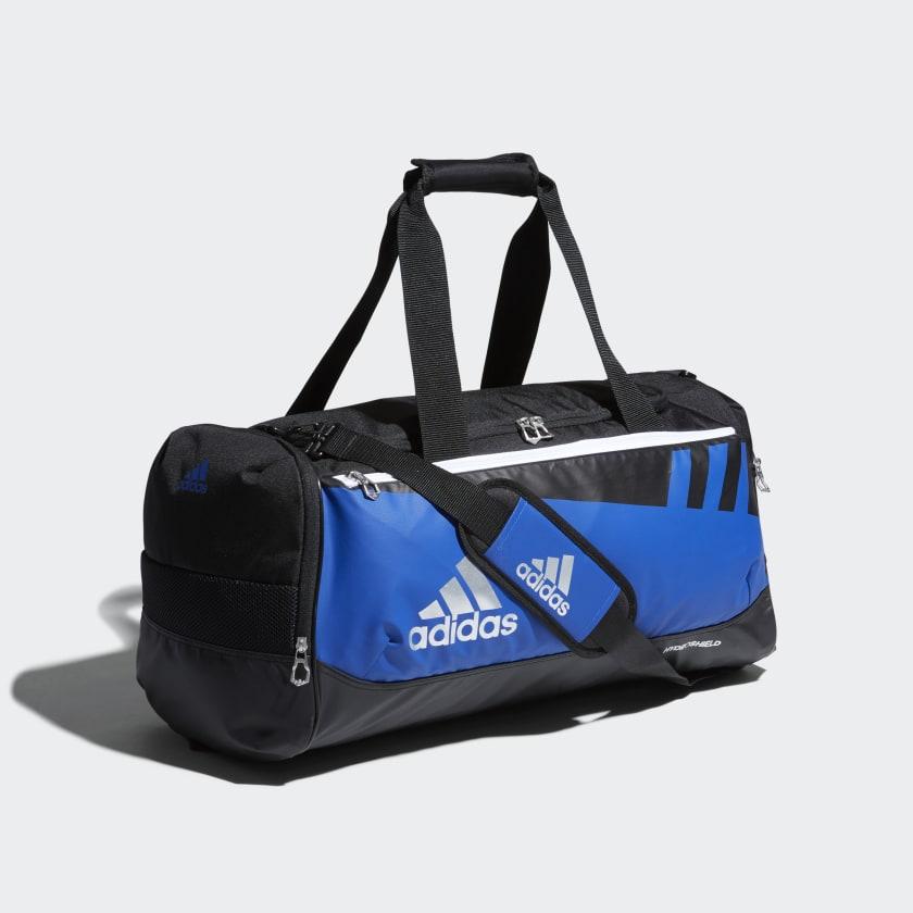 adidas Team Issue Duffel Bag Medium - Blue  ecc910e6f9e5d