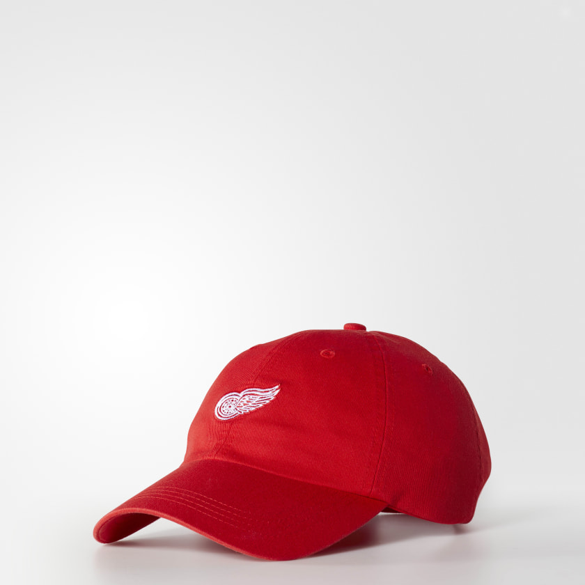 Red Wings Dad Adjustable Slouch Cap