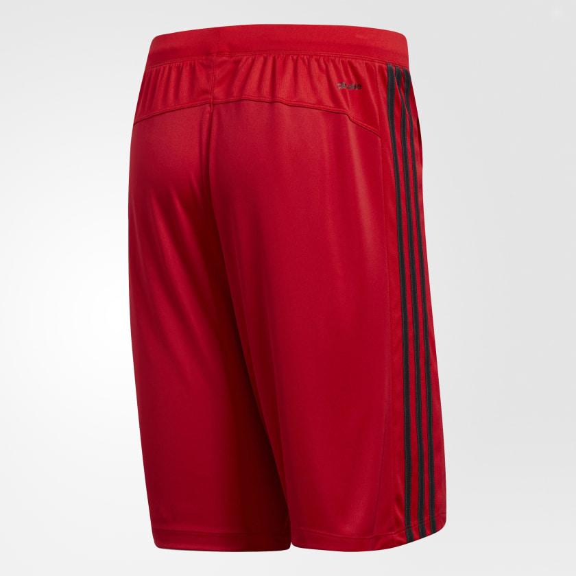 adidas-D2M-3-Stripes-Shorts-Men-039-s thumbnail 37