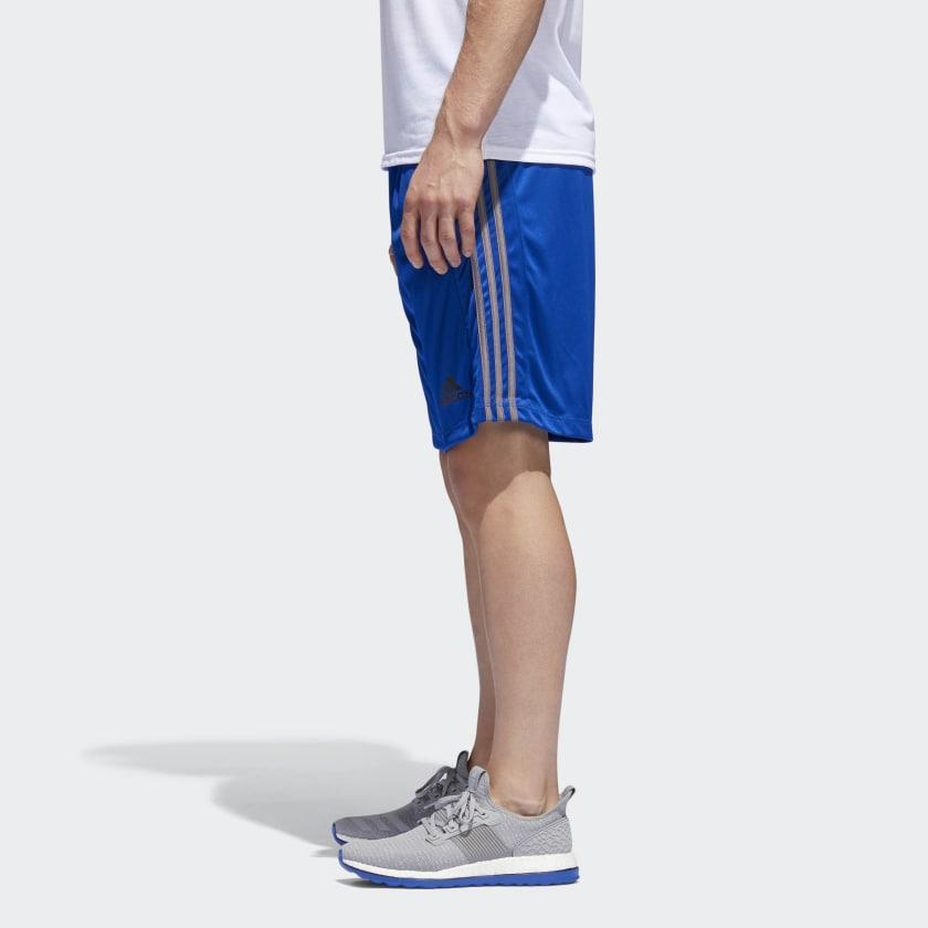 adidas-D2M-3-Stripes-Shorts-Men-039-s thumbnail 47