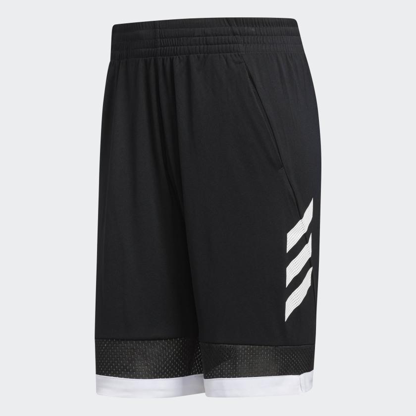 adidas-Pro-Bounce-Shorts-Men-039-s thumbnail 17
