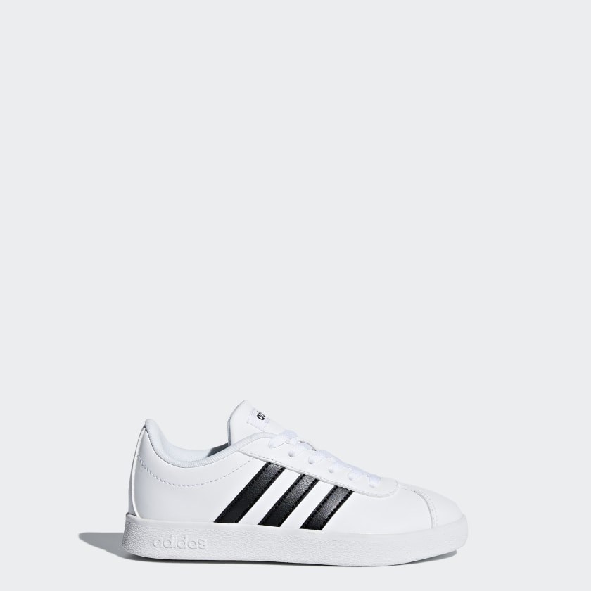 adidas-VL-Court-2-0-Shoes-Kids-039 thumbnail 16