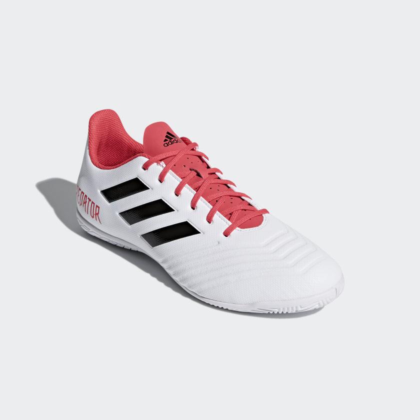 Chuteira Predator 18.4 Futsal - Preto adidas  13b263eab9e41
