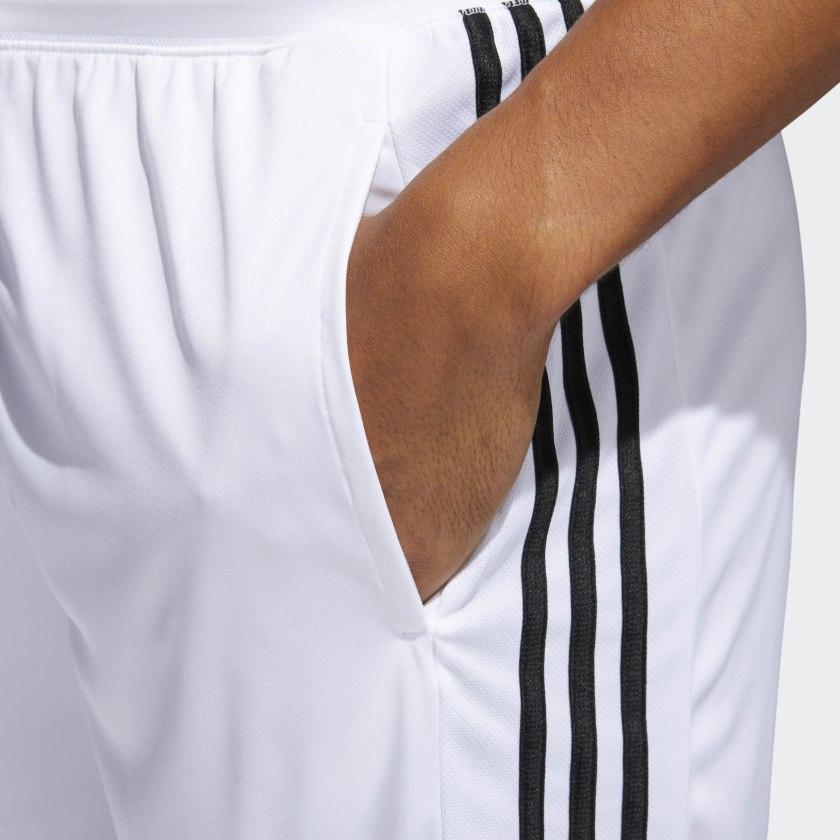 adidas-D2M-3-Stripes-Shorts-Men-039-s thumbnail 18