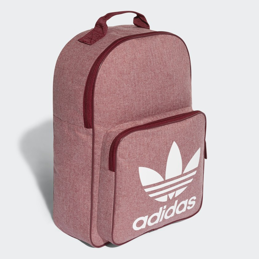 f06a33d7318 adidas Trefoil Casual Backpack - Red   adidas Canada